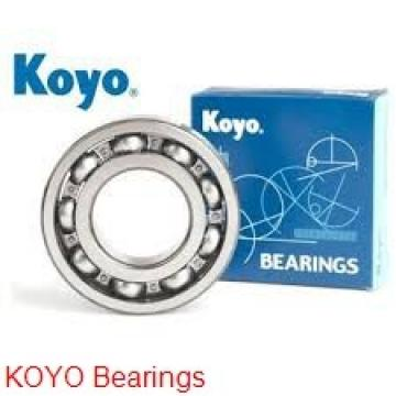 KOYO 6206 deep groove ball bearings