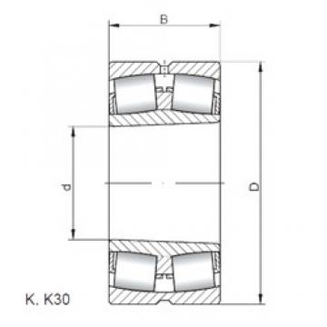 ISO 23280 KW33 spherical roller bearings